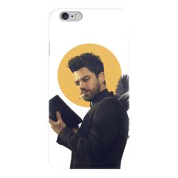 """Чехол для iPhone 6 """"Пастырь"""" - комиксы, dc comics, preacher, проповедник"""