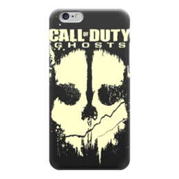 """Чехол для iPhone 6 глянцевый """"Call of Duty Ghosts"""" - компьютерные игры, call of duty, call of duty ghosts, зов долга, cod"""