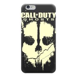 "Чехол для iPhone 6 ""Call of Duty Ghosts"" - компьютерные игры, call of duty, зов долга, cod, call of duty ghosts"