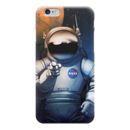 """Чехол для iPhone 6 глянцевый """"We need you!"""" - звезды, космос, вселенная, космический, thespaceway"""