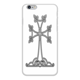 "Чехол для iPhone 6 ""Армянский крест"" - армения, христианство, ереван, арцах, армяне"
