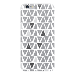 """Чехол для iPhone 6 """"Пепел"""" - серый, белый, черный"""