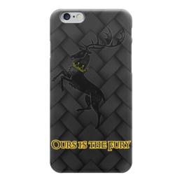 """Чехол для iPhone 6 """"Игра Престолов!!!"""" - девиз, олень, игра престолов, game of thrones, баратеоны"""