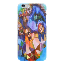 """Чехол для iPhone 6 """"Жеода"""" - голубой, фиолетовый, коричневый"""
