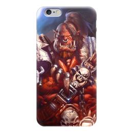 "Чехол для iPhone 6 ""WarCraft: Орк"" - wow, warcraft, орк, варкрафт, ork"