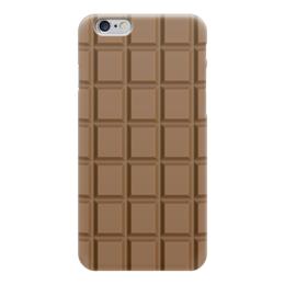 """Чехол для iPhone 6 """"Шоколадка"""" - сладкое, шоколад, плитка, вкусняшка"""
