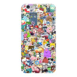 "Чехол для iPhone 6 ""STICKERS"" - арт, дизайн, аниме, мульт, фэн-арт"