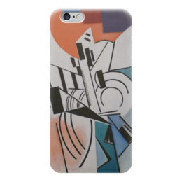 """Чехол для iPhone 6 """"Супрематизм"""" - картина, розанова"""
