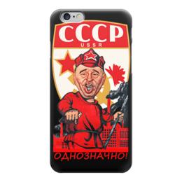 """Чехол для iPhone 6 """"Однозначно!"""" - ссср, россия, жириновский, коммунизм, лдпр"""