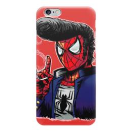 """Чехол для iPhone 6 """"человек паук"""" - spider man, человек паук, элвис, сигарета, человек-паук"""