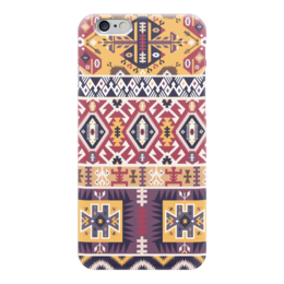"Чехол для iPhone 6 ""Bright pattern in tribal style"" - tribal, ethnic, native, aztec, navajo"