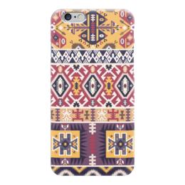 "Чехол для iPhone 6 ""Bright pattern in tribal style"" - tribal, ethnic, native, aztec, navajo"