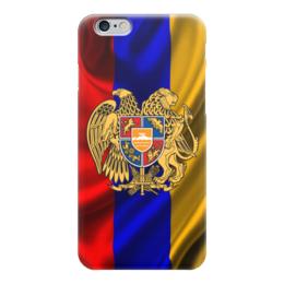 """Чехол для iPhone 6 """"Флаг и герб Армении"""" - армяне, арменин"""