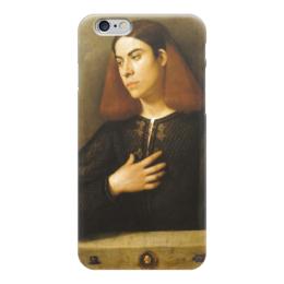 """Чехол для iPhone 6 """"Портрет молодого человека (Джорджоне)"""" - картина, джорджоне"""