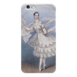 "Чехол для iPhone 6 ""Мария Тальони в балете «Бог и баядерка»"" - картина, шалон"