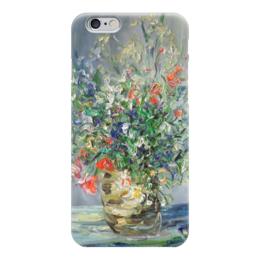 "Чехол для iPhone 6 глянцевый ""цветочный рай"" - букет, цветочный рай, ваза"