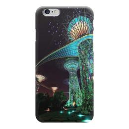 """Чехол для iPhone 6 """"Сады будущего"""" - future, фэнтэзи, marina bay garden, сады будущего"""