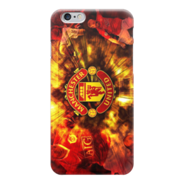 "Чехол для iPhone 6 ""Манчестер Юнайтед"" - манчестер юнайтед, manchester united, мю"