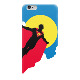 "Чехол для iPhone 6 ""Супермен (Superman)"" - superman, супермэн, dc, dc comics, кларк кент"