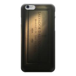 "Чехол для iPhone 6 ""Сальвадор Дали"" - готика, арт, сальвадор дали, надгробие"