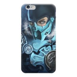 """Чехол для iPhone 6 """"Mortal Kombat"""" - mortal kombat, mk, sub-zero, cмертельная битва, саб-зиро"""