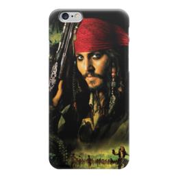 "Чехол для iPhone 6 ""Капитан Джек Воробей."" - джонни депп, пират, капитан, джек воробей, пираты карибского моря"