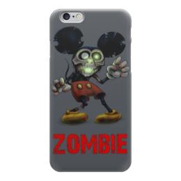 """Чехол для iPhone 6 """"Mickey Mouse Zombie"""" - zombie, зомби, микки маус, mickey mouse, арт дизайн"""