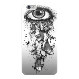 "Чехол для iPhone 6 ""Слезоточивый глаз"" - глаз, рыбы, рыба, слёзы, арт дизайн"