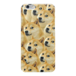 "Чехол для iPhone 6 ""Doge "" - doge, сиба-ину, доге, сиба"