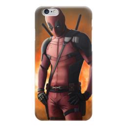 """Чехол для iPhone 6 глянцевый """"Дэдпул (Deadpool)"""" - марвел, комиксы, дэдпул, deadpool"""