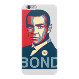"Чехол для iPhone 6 ""James Bond"" - james bond, агент 007, шон коннери, джеймс бонд, sean connery"