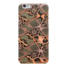"Чехол для iPhone 6 ""фантазийная сетка"" - узор, цвета, форма, сетка"