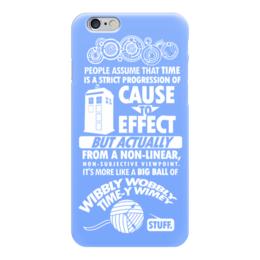 """Чехол для iPhone 6 """"Тардис (Доктор Кто)"""" - doctor who, tardis, доктор кто, тардис"""