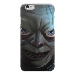 "Чехол для iPhone 6 ""Голлум (Властелин Колец)"" - lord of the ring, голый, шмыга"