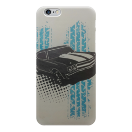 "Чехол для iPhone 6 ""muscle car"" - машины, muscle car, масл"