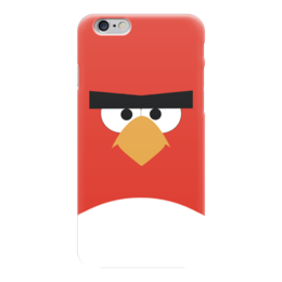 "Чехол для iPhone 6 ""Angry Birds"" - игры, angry birds, злые птицы"