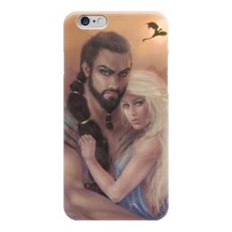 "Чехол для iPhone 6 ""Игра Престолов"" - игра престолов, мать драконов, таргариены, дайнерис, кхал дрого"