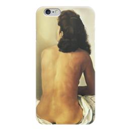 "Чехол для iPhone 6 глянцевый ""Сальвадор Дали /Gala Nude Seen from Behind"" - арт, сальвадор дали, дали, иллюстрация, nude, ню, salvador dali, dali, гала"