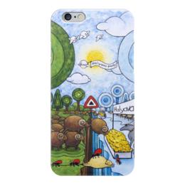 "Чехол для iPhone 6 ""Lollypups #23 (freebie   halyava) "" - арт, баран, овца, волк, халява"