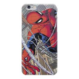 """Чехол для iPhone 6 """"Человек-паук (Spider-man)"""" - герой, spider-man, человек-паук, marvel comics, peter parker"""