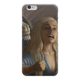 "Чехол для iPhone 6 ""Дейенерис Таргариен (Игра Престолов)"" - игра престолов, game of thrones, daenerys targaryen"