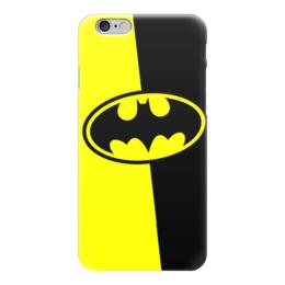 "Чехол для iPhone 6 ""Batman (Бэтмен)"" - batman, бэтмен, супергерой, летучая мышь, брюс уэйн"