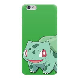 """Чехол для iPhone 6 """"Бульбазавр"""" - нинтендо, bulbasaur, покемон го, венузавр, ивизавр"""