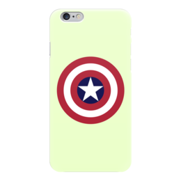 "Чехол для iPhone 6 ""Captain America"" - marvel, марвел, капитан америка, captain america"