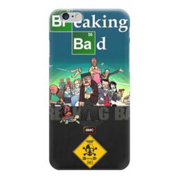 """Чехол для iPhone 6 глянцевый """"во все тяжкие"""" - сериалы, фильмы, хайзенберг, breaking bad, во все тяжкие"""