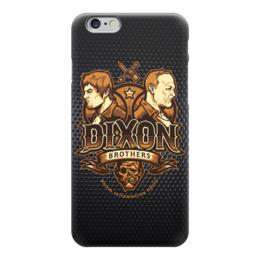 "Чехол для iPhone 6 глянцевый ""Dixon (Walking Dead)"" - ходячие мертвецы, the walking dead"