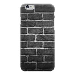 """Чехол для iPhone 6 """"Кирпичный"""" - узор, рисунок, камень, кирпич, чтена"""