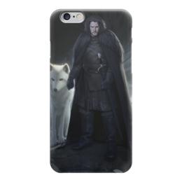 "Чехол для iPhone 6 ""Джон Сноу"" - игра престолов, game of thrones, jon snow, джон сноу"