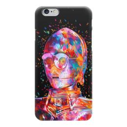 "Чехол для iPhone 6 ""C-3PO"" - star wars, звездные войны, стар варс, ситрипо"