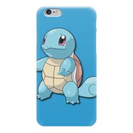 """Чехол для iPhone 6 """"Сквиртл"""" - нинтендо, nintendo, squirtle, pokemon go, покемон го"""